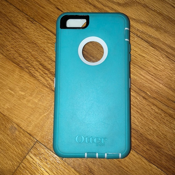 huge discount 647f7 be99d baby blue IPhone 6 Plus phone case